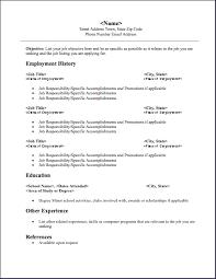 simple resume format free download samplebresumesbforbteachers    a cv