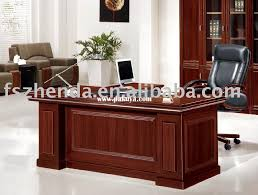 wooden office table awesome boss awesome wood office desk