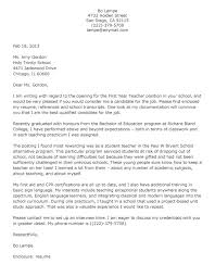 Amazing Writing Teaching Cover Letter Template Professional     Cover Letter Templates