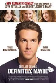 Directed by Adam Brooks Starring Ryan Reynolds, Isla Fisher, Derek Luke, Abigail Breslin Release Date: February 14,2008. More Information at: - definitely-maybe-poster-1