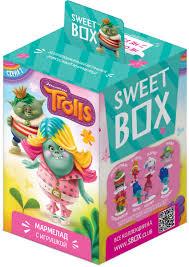 <b>Sweet</b> Box Тролли <b>мармелад с игрушкой</b>, 10 г — купить в ...