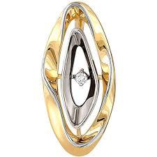 Золотой <b>кулон Kabarovsky</b> 13-21002-1000 с бриллиантом ...