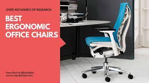 <b>Top</b> 15 <b>Best Ergonomic</b> Office Chairs 2019 - Buyers' Guide