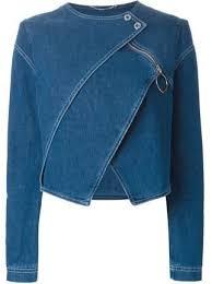 Kenzo Layered Denim Jacket - <b>Stefania</b> Mode - Farfetch.com ...