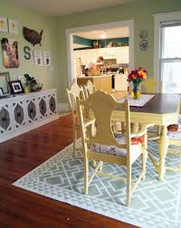 Painting Linoleum Kitchen Floor Diy Dining Room Area Rug Painted Linoleum Reality Daydream