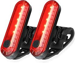 Ascher USB Rechargeable LED Bike Tail Light 2 ... - Amazon.com