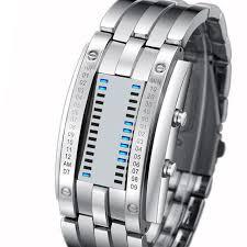 <b>Skmei Fashion</b> Creative Sport <b>Watch Men</b> Stainless Steel Strap Led ...