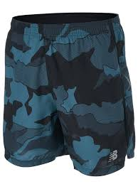 "New Balance Men's Spring <b>Accelerate</b> 5"" <b>Printed Short</b>"
