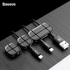 <b>Baseus Cable</b> Winder Flexible <b>Silicone USB Cable</b> Organizer <b>Wire</b> ...