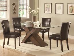 Glass Dining Room Tables Round Dining Dining Room Decor Ideas Rectangle Dining Table Glass Table
