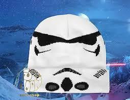 New Star Wars Stormtrooper Helmet <b>Watchman Winter Hat</b> Cap ...
