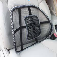 <b>Car</b> Seat Chair Massage Back Brace <b>Lumbar</b> Support Mesh ...