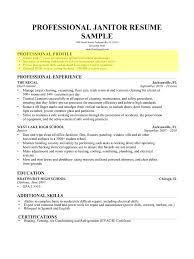 cover letter profile resume samples resume profile samples entry cover letter how to write a professional profile resume genius janitorprofile resume samples extra medium size
