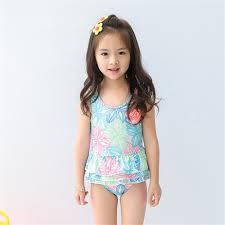 Baby Girls Swimwear with Multi colore Flowers Painted <b>1 8 Y</b> Kids ...