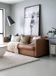 sofa living room grey walls