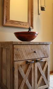 country themed reclaimed wood bathroom storage:  ideas about wood vanity on pinterest vanity tops bathroom and vanities