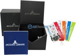 Наручные <b>часы Jacques Lemans 1</b>-<b>1540D</b> — купить в интернет ...