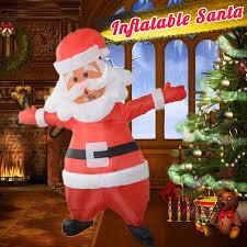 <b>Christmas Santa</b> Claus <b>Inflatable Costume</b> Blow Up <b>Fancy Dress</b> ...