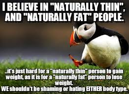 Naturally Skinny Naturally Fat on Memegen via Relatably.com