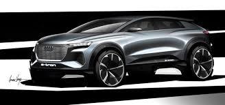 Audi teases its all-electric <b>Q4</b> concept <b>car</b> | Engadget