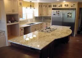 colonial gold granite kitchen