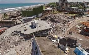 Resultado de imagen para TERREMOTO DE ECUADOR MANABI