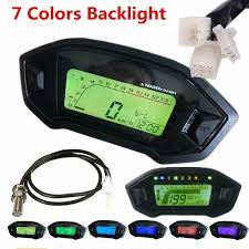 eBay #Sponsored DC <b>12V</b> 7 Backlight LCD <b>Motorcycle</b> ...