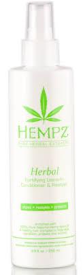 <b>Hempz Herbal</b> Fortifying Leave-In <b>Conditioner</b> & <b>Restyler</b> - 8.5 oz ...