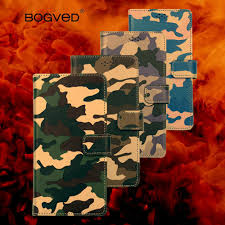Brand BOGVED Case <b>Army Camo Camouflage Leather</b> Case for ...
