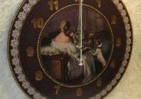 "<b>Часы</b> Дама с собачкой / <b>Clock</b> ""Lady with the dog"""