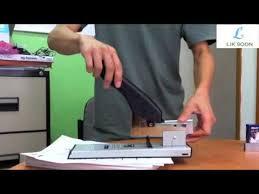 How to use: <b>KW</b>-<b>Trio Heavy Duty</b> Stapler 50LAN & 50SAN - YouTube