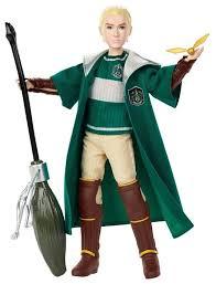 <b>Кукла</b> Mattel <b>Harry</b> Potter Квиддич <b>Драко Малфой</b>, GDJ71 ...
