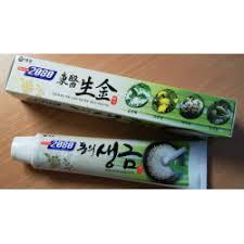 Отзывы о <b>Зубная паста KeraSys</b> 2080 Herb and Bio Salt