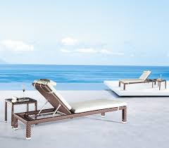 outdoor patio furniture blue lounge
