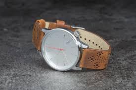 <b>Часы Komono Winston Brogue</b> Walnut | Footshop