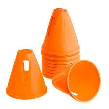 <b>Набор из</b> 10 <b>конусов</b> для слалома оранжевыйu
