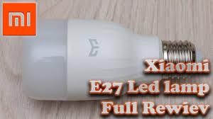 <b>Умная лампочка Xiaomi Yeelight</b> E27, настройка, сценарии ...