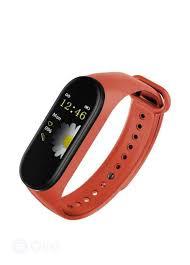 M4 <b>Smart Band Wristband Watch</b> Fitness Tracker <b>Bracelet</b> Rate In ...
