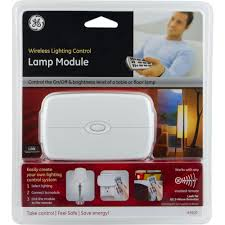 ge z wave wireless lighting control lamp module with dimmer control 45602 the home depot ge wave wireless lighting control