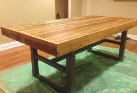 ryan built this table top for a customer who wanted to combine the beauty of aged build industrial furniture