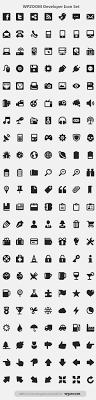 free developer icon set from wpzoom basic icons flat icons 1000