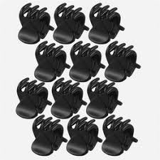 12 pcs/sets Fashion Women crab Hair claw clip Girls Black ... - Vova