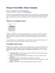 project feasibility study samples feasibility study nutrition