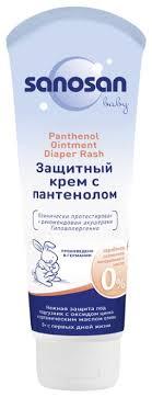 <b>Sanosan</b> Детский защитный <b>крем</b> с пантенолом — купить по ...