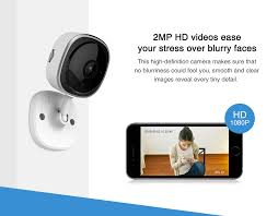 SANNCE 2pcs <b>HD 1080P IP</b> Camera Wireless <b>Wifi Mini</b> Network ...