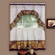 Kitchen Curtains At Walmart Kitchen Window Curtains Walmart Home Interior Inspiration