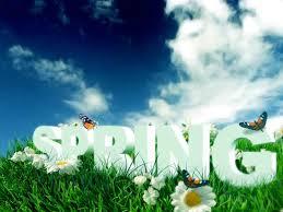springs season in essay