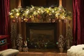christmas decor ideas fireplace mantel
