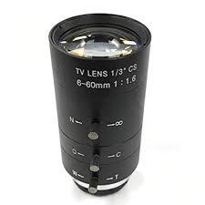 ForceSthrength <b>CCTV</b> Video Lens Manual ZOOM <b>6</b>-<b>60mm CS</b> ...