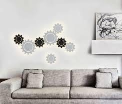 Настенный светодиодный <b>светильник</b> Gear L LED белый - купить ...